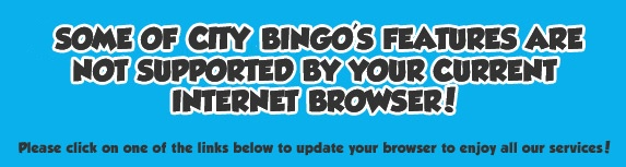 Internet browser update required